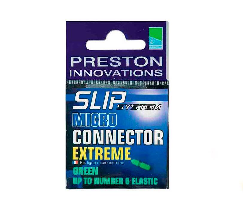 Коннектор для амор. Preston Carp Connector Green