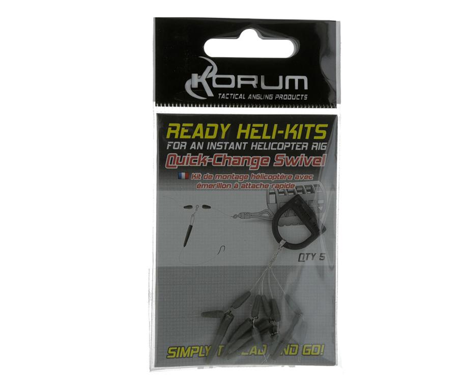 Вертлюги Korum Ready Heli-kit Quick Change Swivel