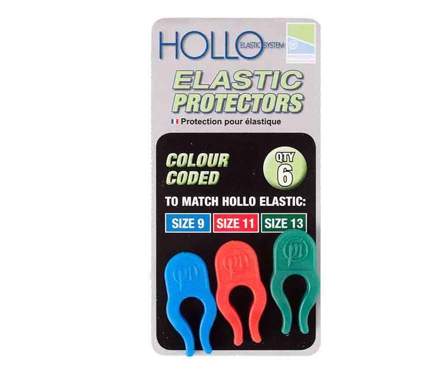 Держатель-защита Preston Hollo Elastic Protector Blue/Red/Green