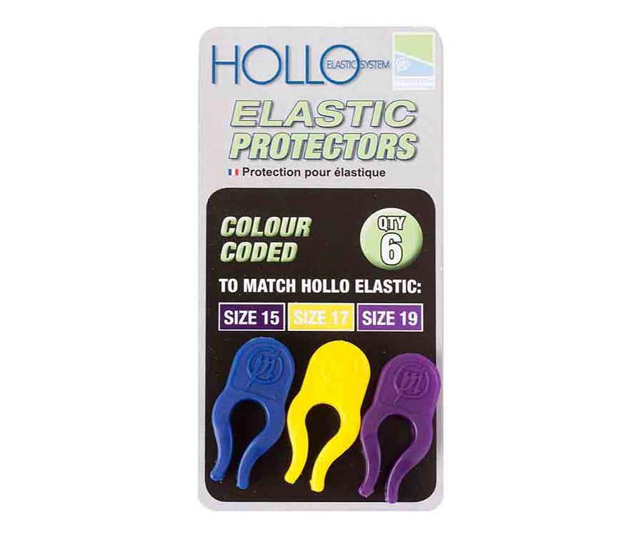 Держатель-защита Preston Hollo Elastic Protector Blue/Yellow/Purple