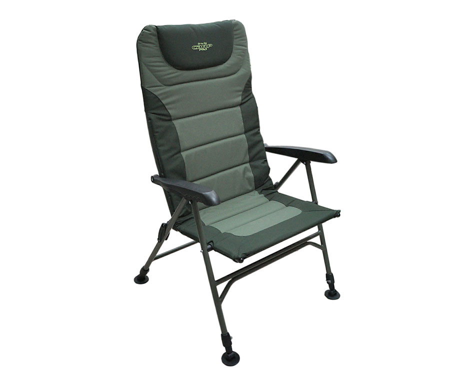 Кресло-шезлонг с регулировкой наклона спинки Carp Pro XL