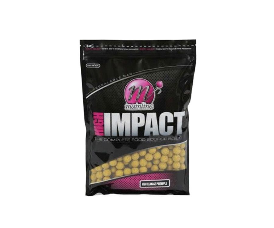 Бойлы Mainline High Impact Boilies H/L Pineapple 20 мм 1 кг