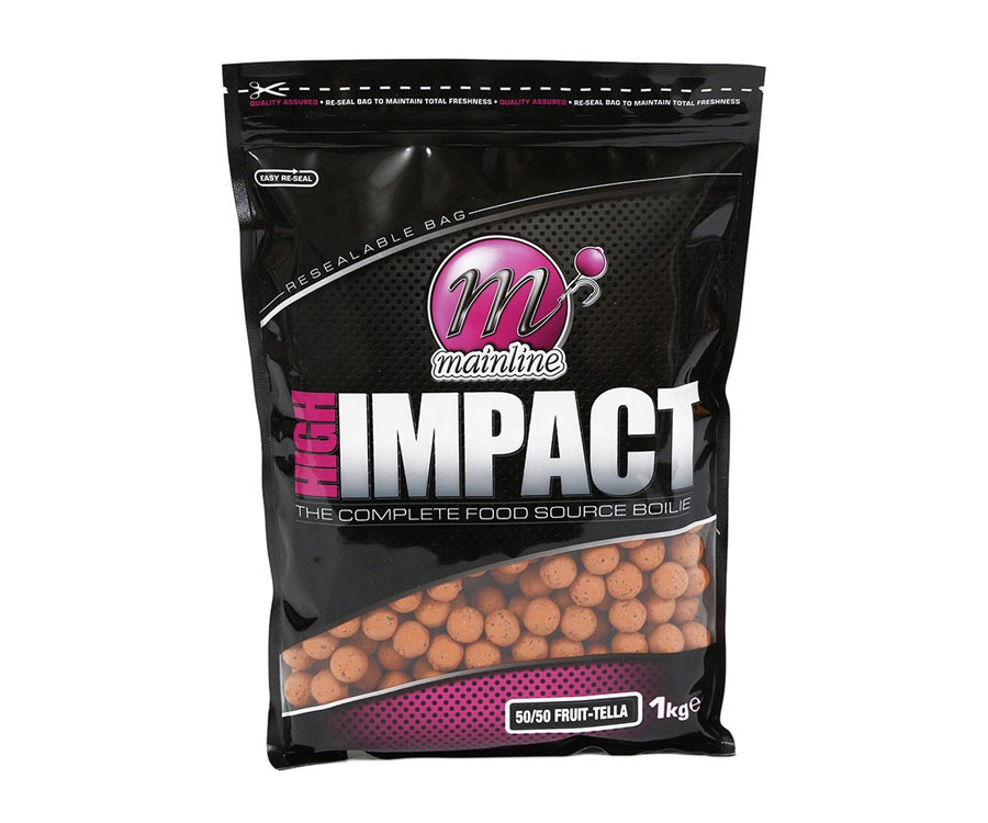 Бойлы Mainline High Impact Boilies 50/50 Fruit Telia 20 мм 1 кг