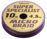 Поводковый материал Drennan S\'Specialist Microbraid 10 м 7 lb