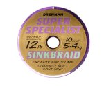Поводковый материал Drennan S\'Specialist Sinkbraid 10 м 12 lb