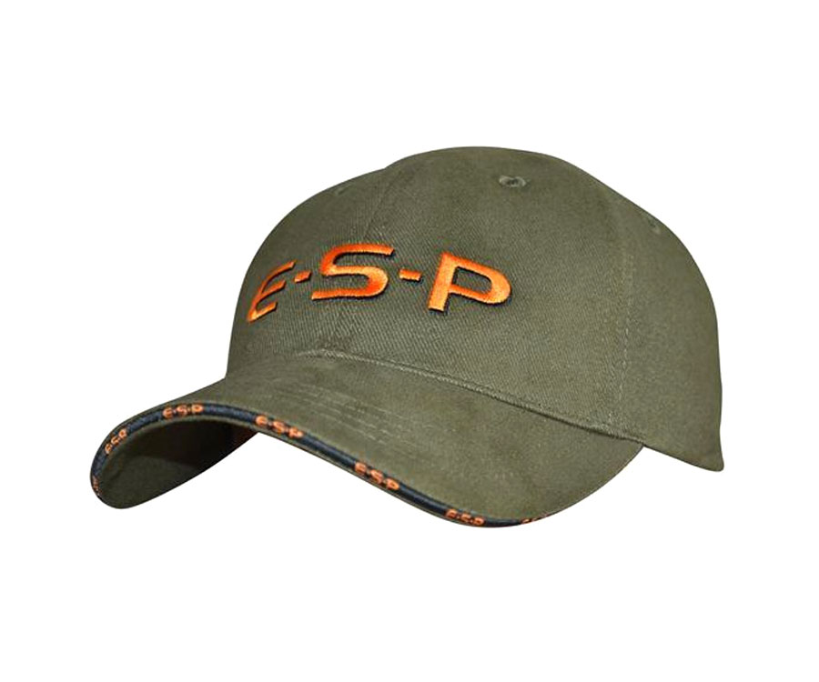 Кепка ESP Cap Green Orange Logo