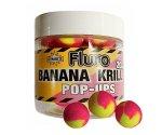 Бойлы Dynamite Baits Fluro Pop-Ups Two Tone Krill & Banana 15 мм