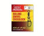 Застежка-вертлюг LJ Roling Swivel Crosslock № 10 (10 шт)