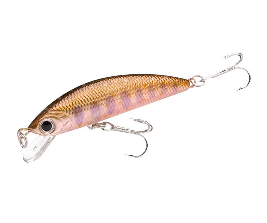 Воблер Lucky Craft Humpback Minnow 50SP Pearl Char Chad