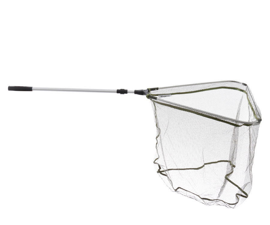 Подсак Flagman Landing Net 60x60 Head Plastic Block 1.80 м - Rubber