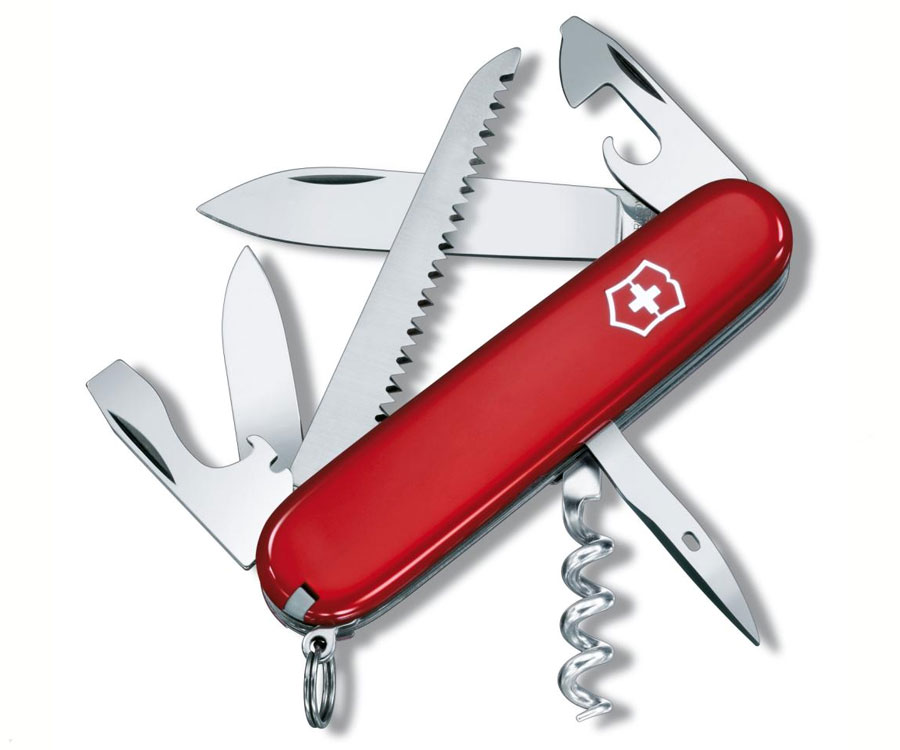 Мультитул Victorinox Swiss Army Camper красный 1.3613