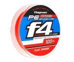 Шнур Flagman PE Hybrid F4 Orange 0,1мм 10lb