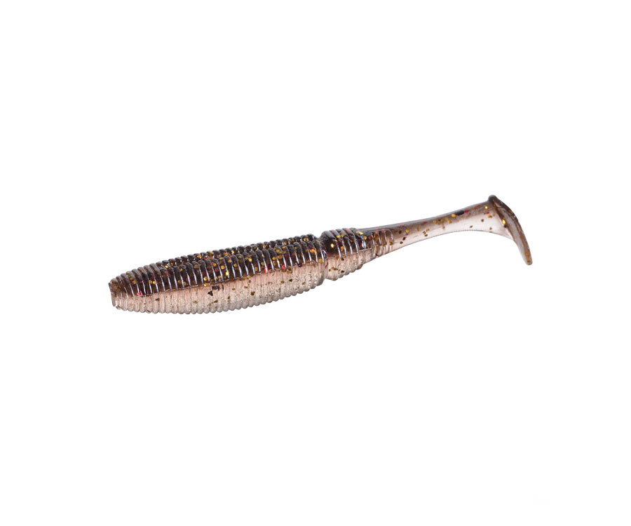 "Виброхвост Azura Shested 2.6"" Gold Flash Minnow"