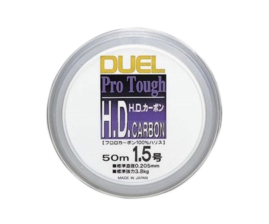 Леска Yo-Zuri H.D. Carbon Fluorocarbon 100% 50м №1.5 0.205мм