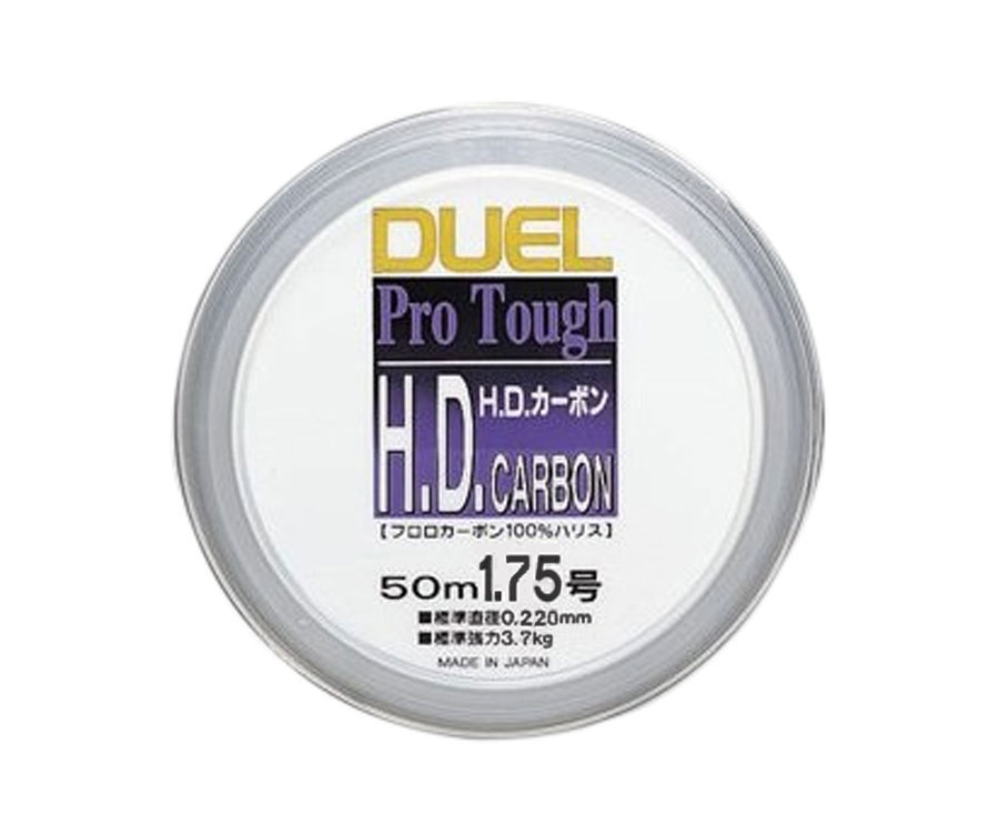 Леска Yo-Zuri H.D. Carbon Fluorocarbon 100% 50м №1.75 0.22мм