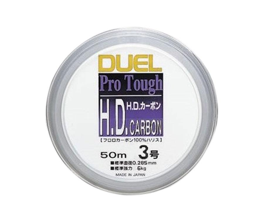 Леска Yo-Zuri H.D. Carbon Fluorocarbon 100% 50м №3 0.285мм