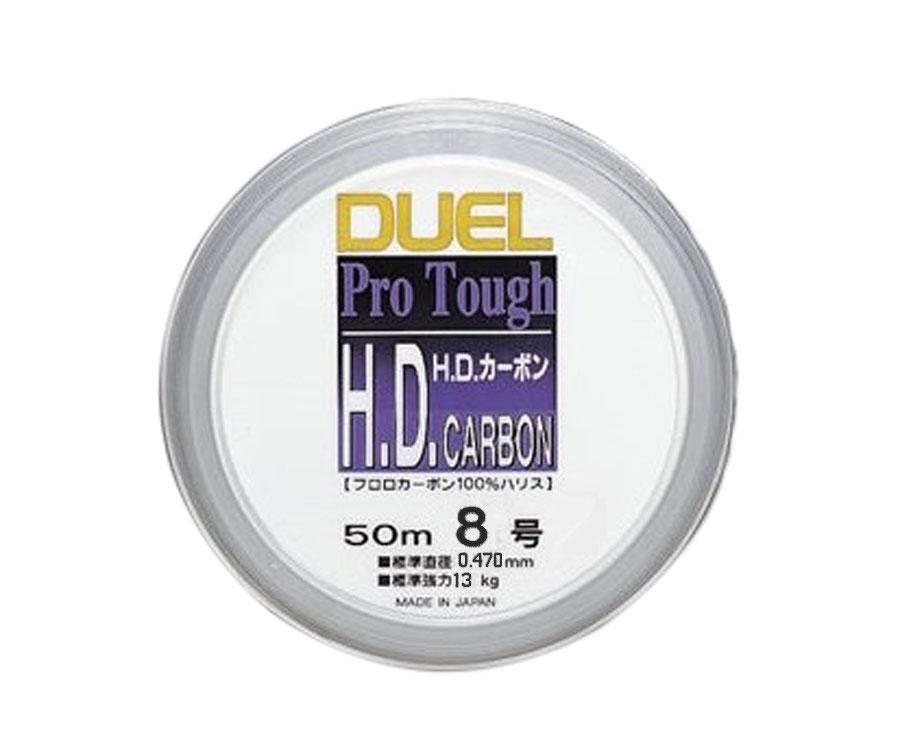 Леска Yo-Zuri H.D. Carbon Fluorocarbon 100% 50м №8 0.47мм