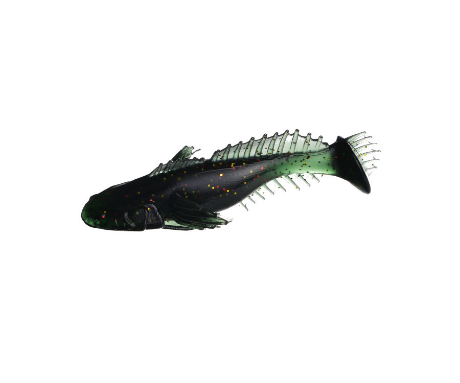 "Виброхвост Flagman Bullfish 2.5"" Brilliant green"