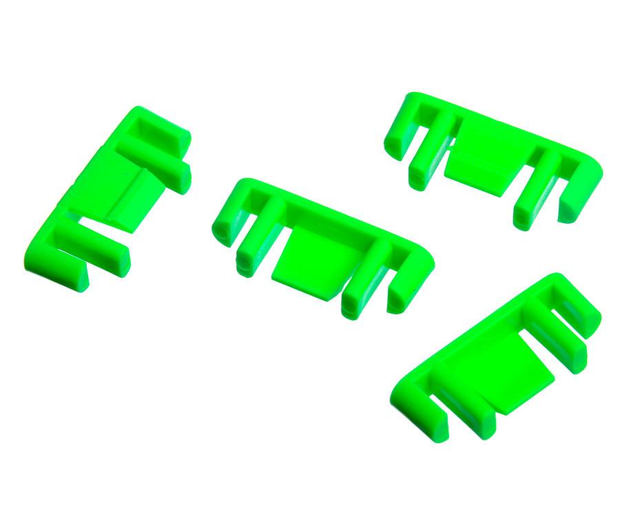 Индикатор для мотовил Rive, зеленый (4 шт.)