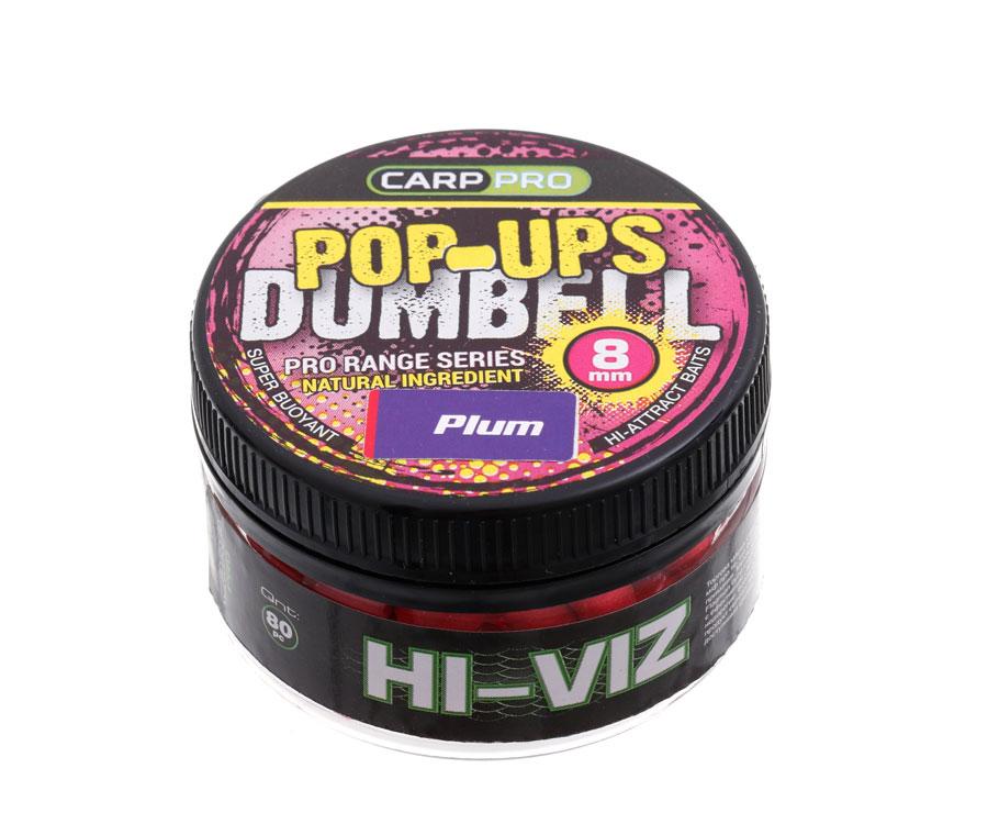 Бойлы Carp Pro Dumbell Pop-ups Plum 8 мм