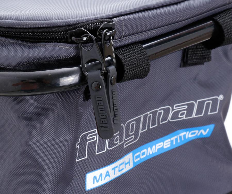 Мягкое ведро с креплением Flagman Nylon Bait Bowl Bag D25 мм