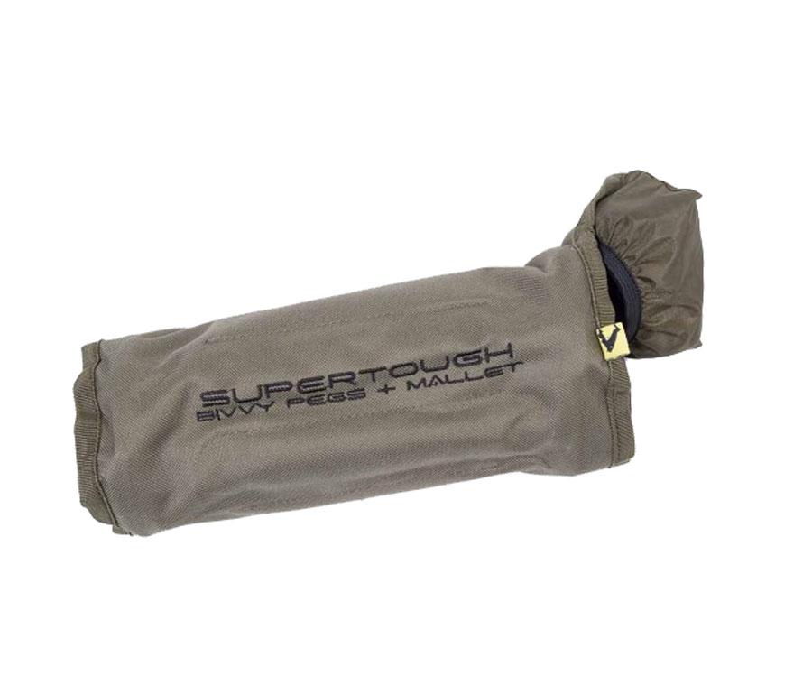 Набор колышков для крепления палатки Avid Carp Super Tough Bivvy Peg Mallet Set с молотком