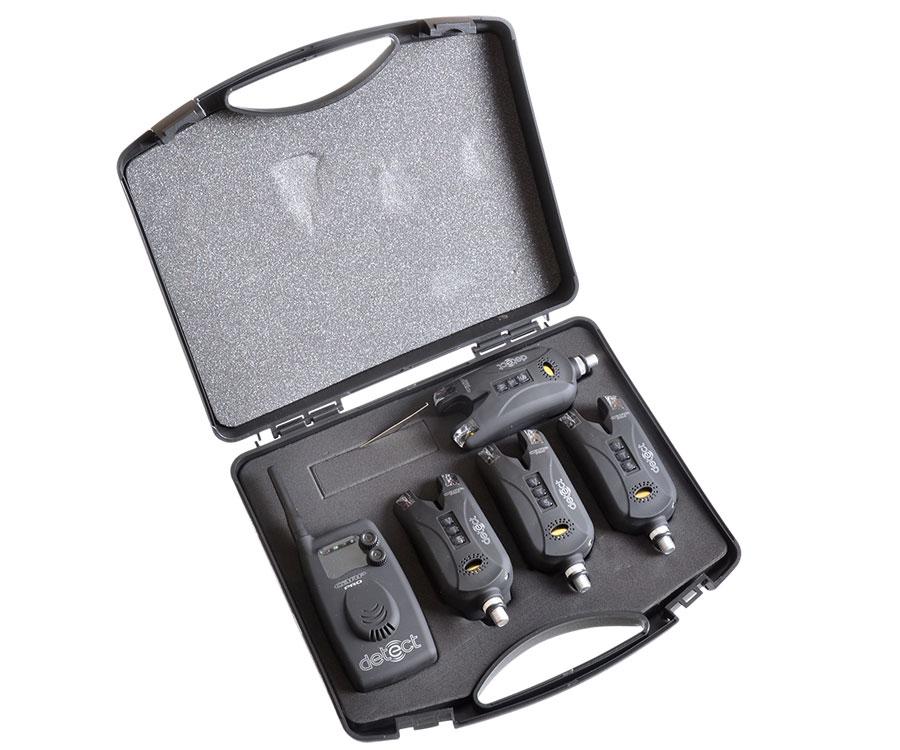 Купить Набор электронных сигнализаторов поклевки Carp Pro Detect 9V 4+1