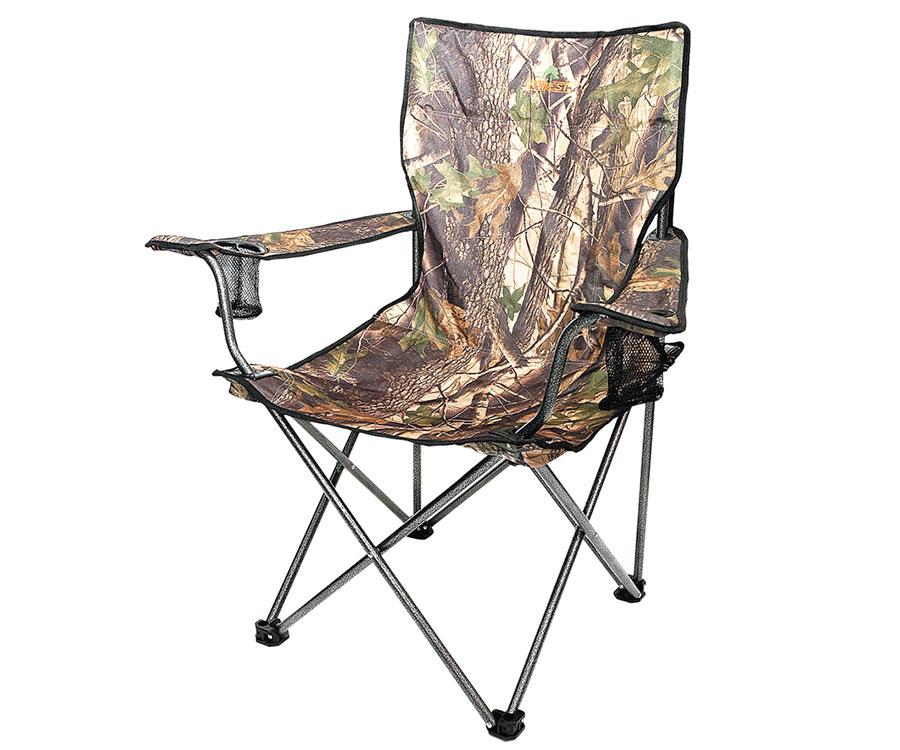 Кресло Forrest складное с подлокотниками камуфляж