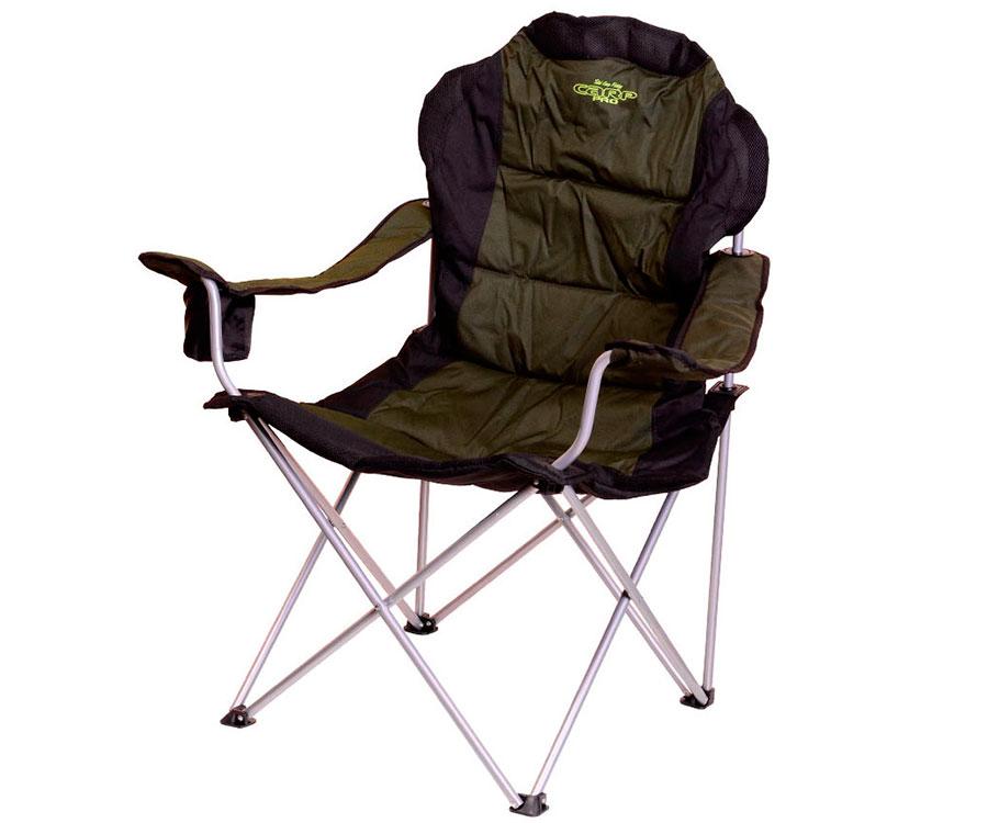 Складное кресло с подлокотниками Carp Pro
