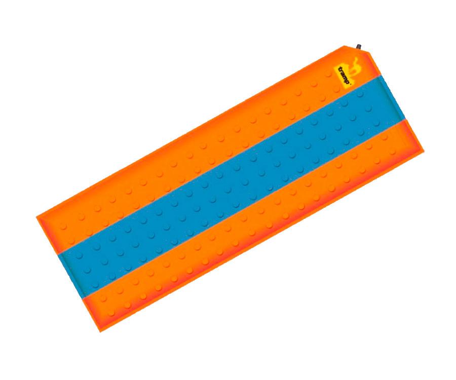 Самонадувний коврик Tramp Оранжевый / Серый