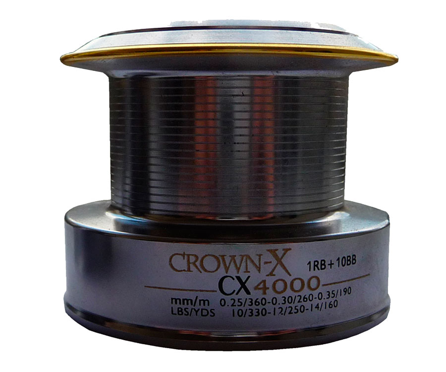 Запасная металлическая шпуля Flagman CrownX Cx4000