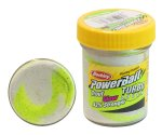 Паста форель Berkley Turbo Dough Glow Chartreuse/White 50г
