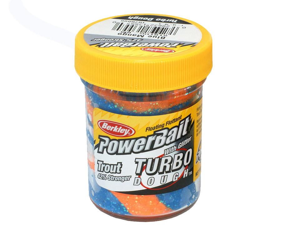 Паста форель Berkley Select Glitter Turbo Dough Blue Mango 50г
