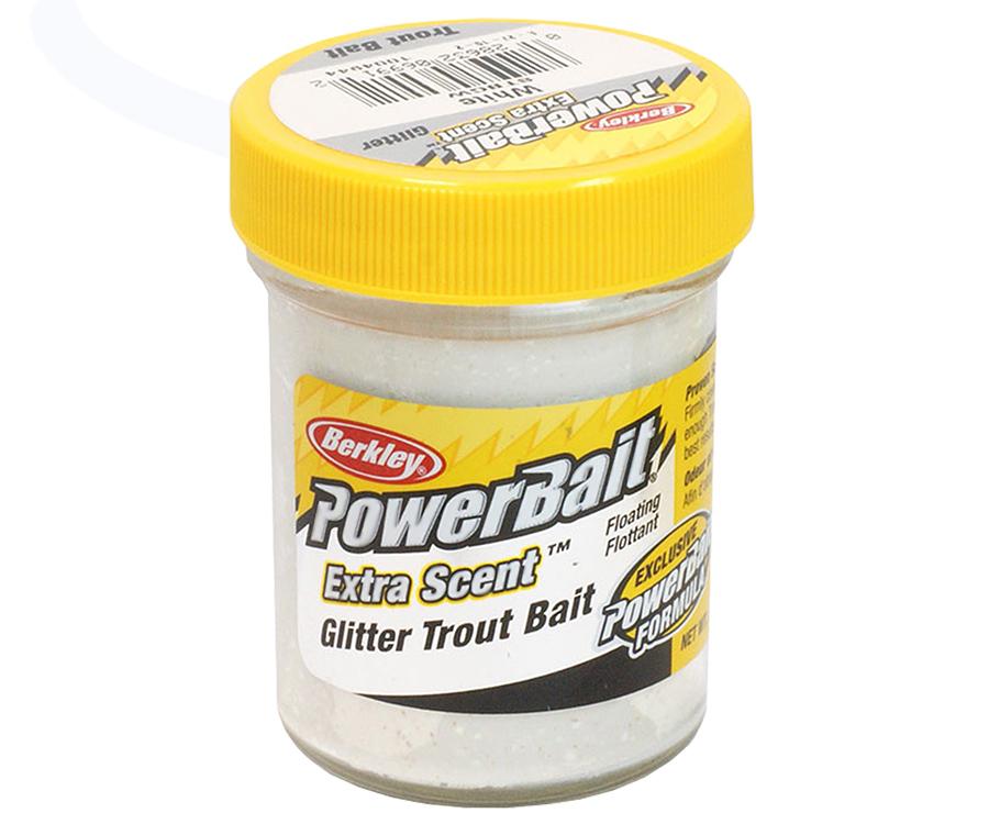 Паста форель Berkley Select Glitter TroutBait White Twin 50г