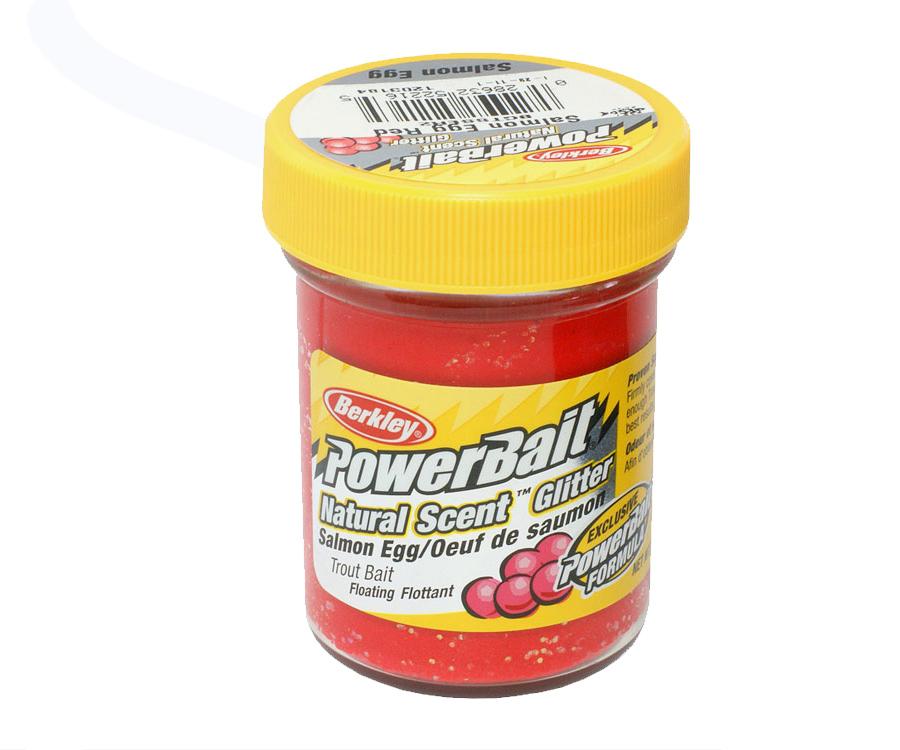 Паста форель Berkley Natural Scent TroutBait SE Red Glitter 50г