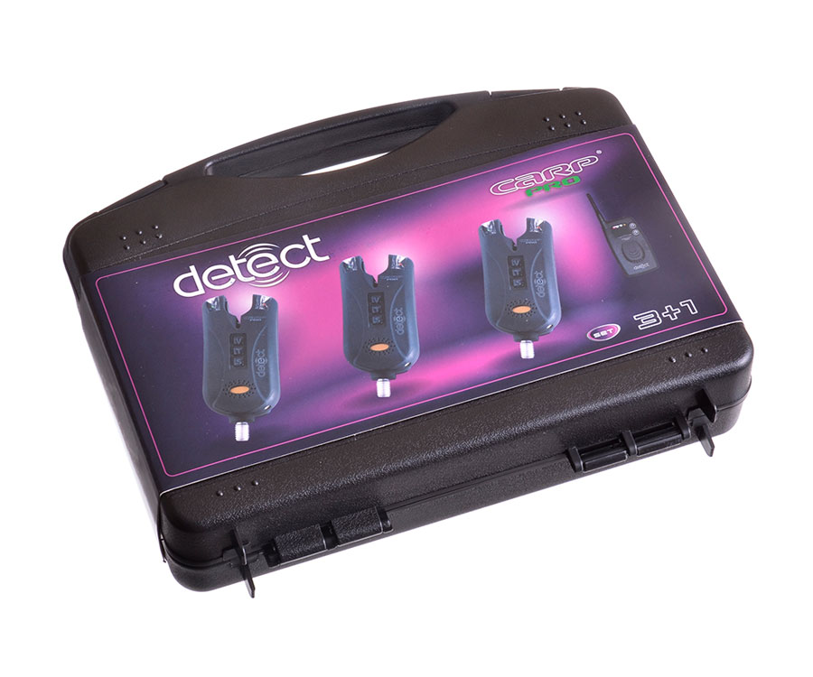 Набор электронных сигнализаторов поклевки Carp Pro Detect 9V 3+1