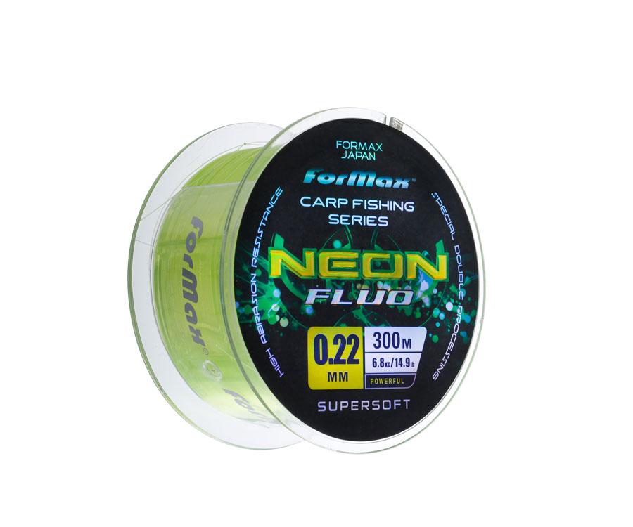 Леска ForMax Carp Neon Fluo 300 м, 0,22 мм
