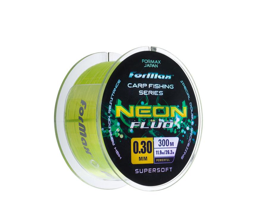 Леска ForMax Carp Neon Fluo 300 м, 0,30 мм