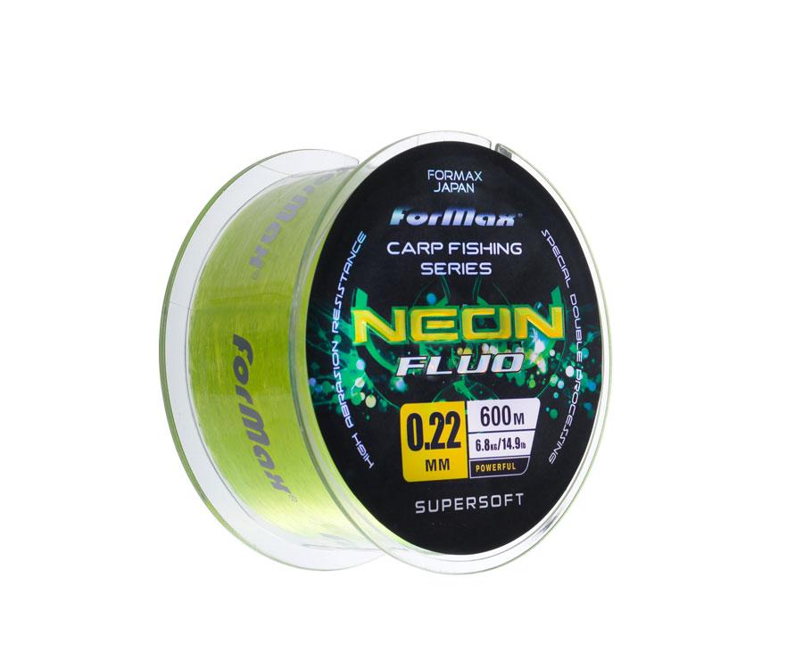Леска ForMax Carp Neon Fluo 600 м, 0,22 мм