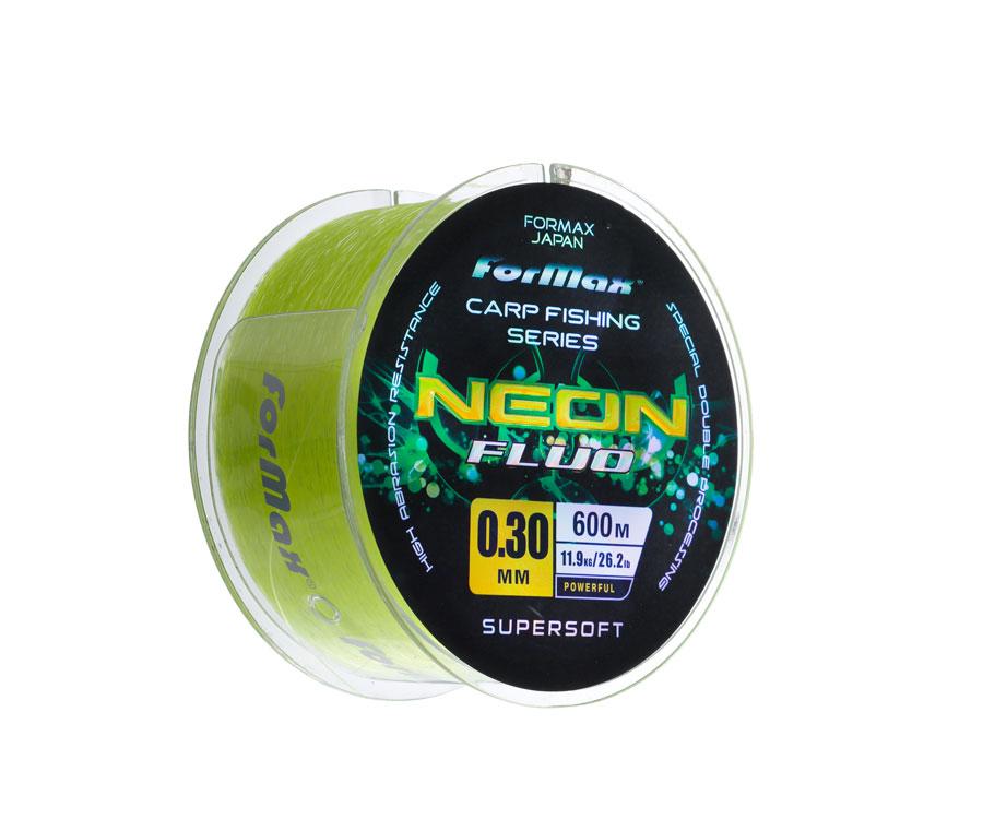 Леска ForMax Carp Neon Fluo 600 м, 0,30 мм