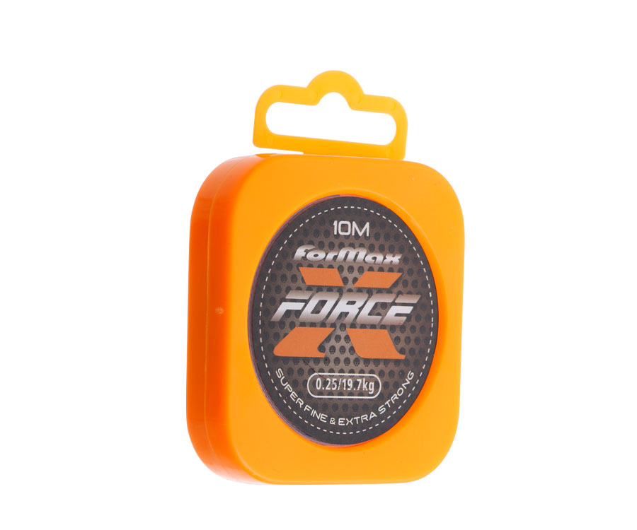 Шнур Formax X force 10M/Spool Small Plastic Box 0.25мм