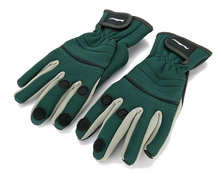 Перчатки неопреновые ForMax со вставками, открыты 3 пальца M