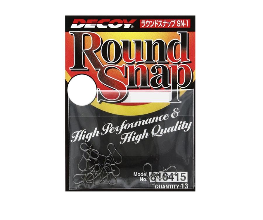 Застежки Decoy Round Snap №000, 12 lb (13 шт.)