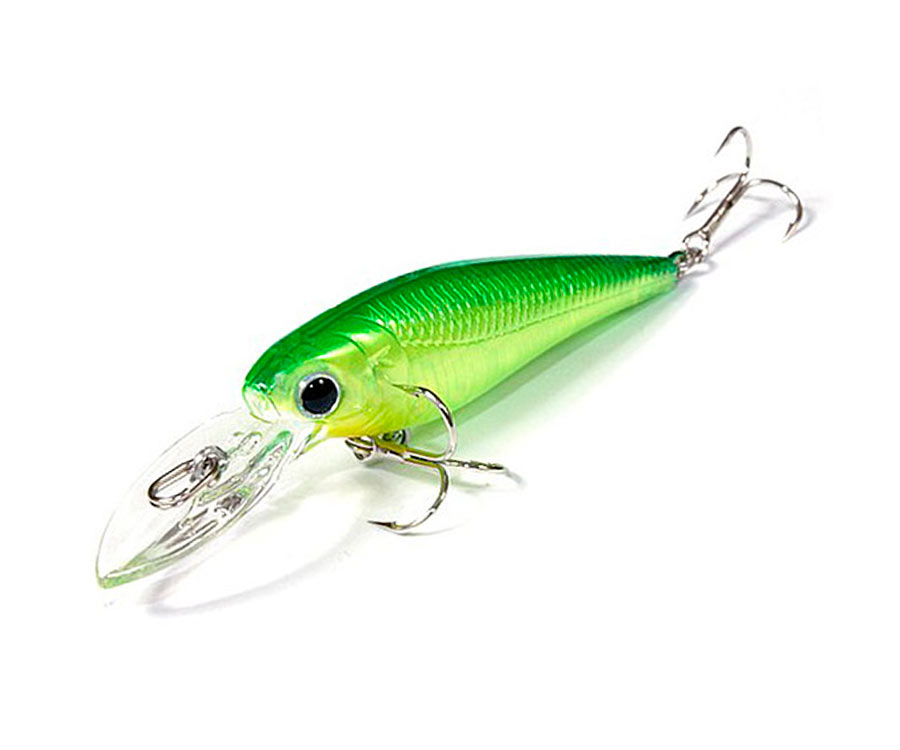 Воблер Lucky Craft Bevy Shad 60 F Lime Chart
