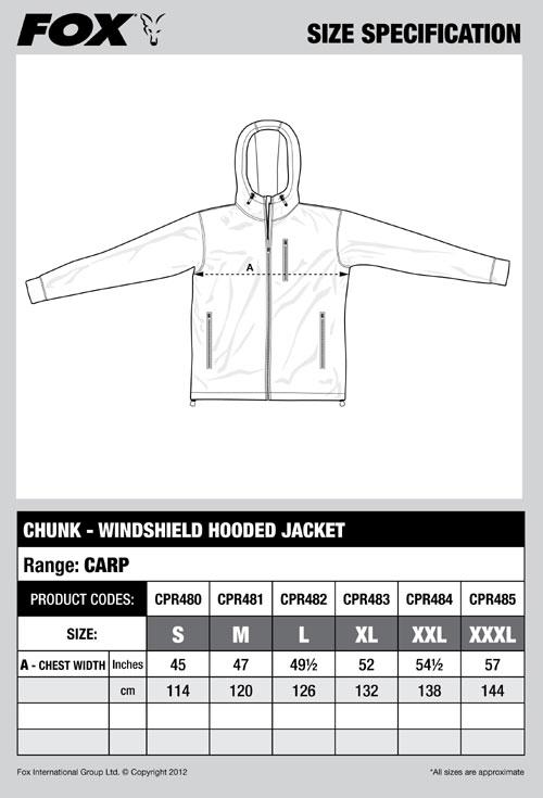 Куртка FOX Chunk Hooded Jacket S