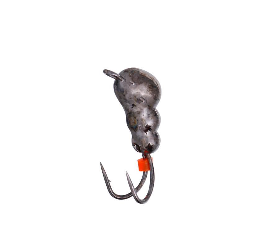 Мормышка вольфрамовая Flagman с ушком Коза d=4.0 черный 1,32g