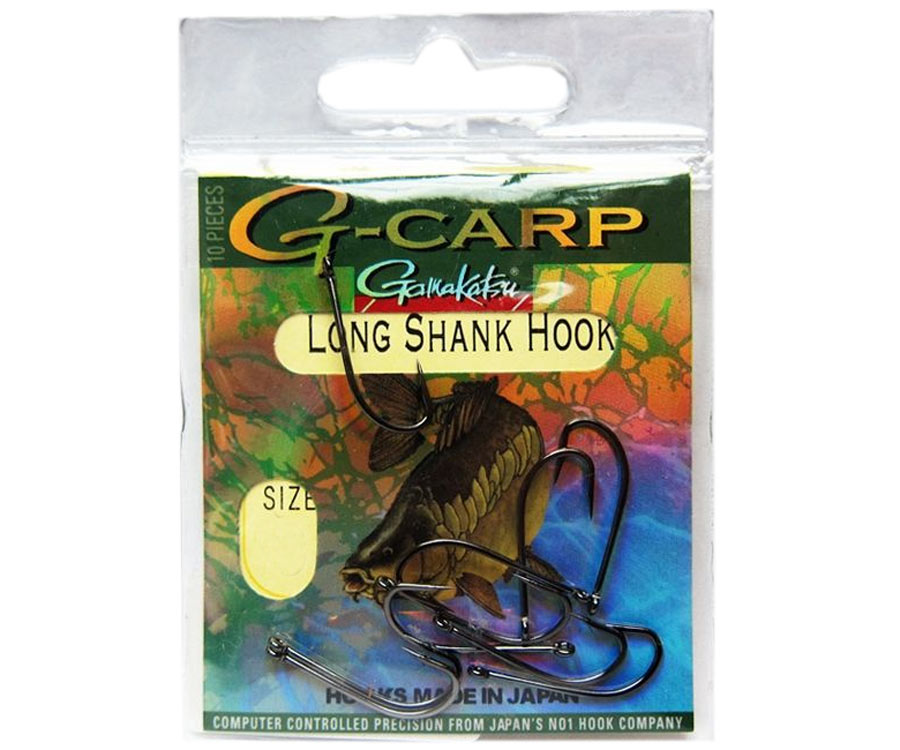 Крючок Gamakatsu G-Carp Long Shank №2