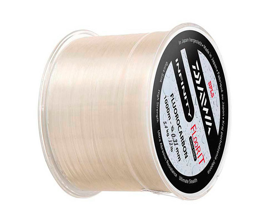 Леска Daiwa Infinity Floor It Fluorocarbon Line Clear 0.31мм