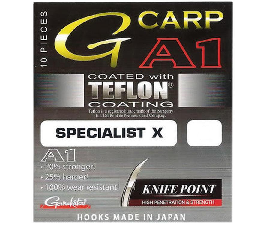 Крючок Gamakatsu G-Carp A-1 Specialist X Knife Point №2