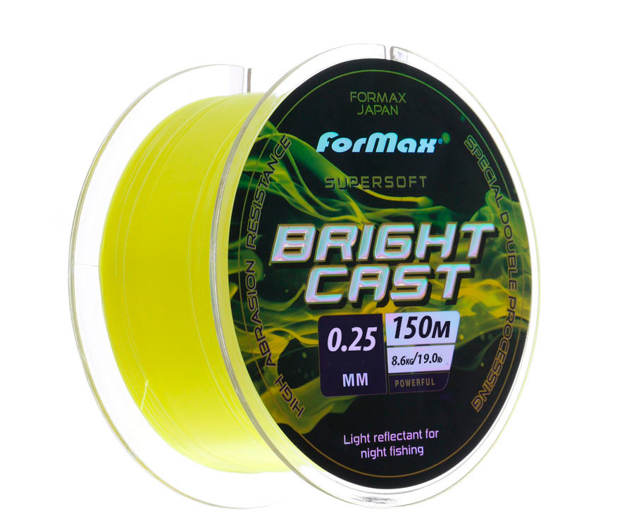 Леска ForMax Bright Cast 150 м, 0,25 мм